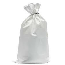 Woven Polypropylene White Sacks
