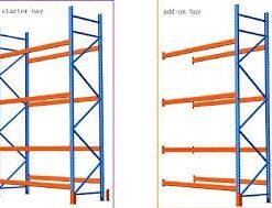 Pallet Racking 3.0m High x 1100mm Deep x 2.7m Long